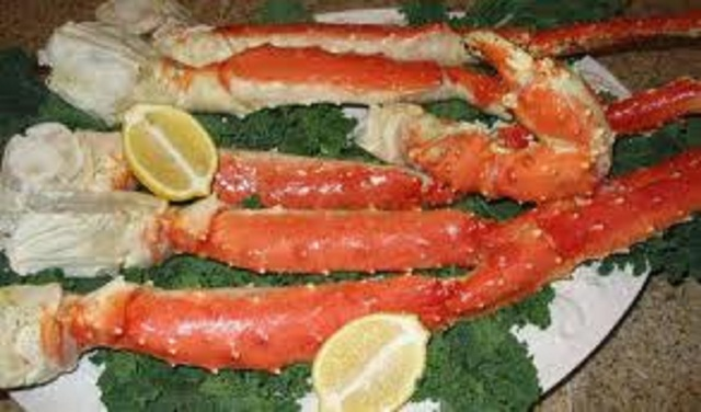 King Crab Cooked King Crab